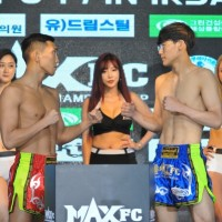 [MAX FC] '팀매드 차세대' 김민준, 입식·종합 가리지 않는 펀치