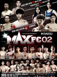 MAX FC 02 IN 대구 경기결과
